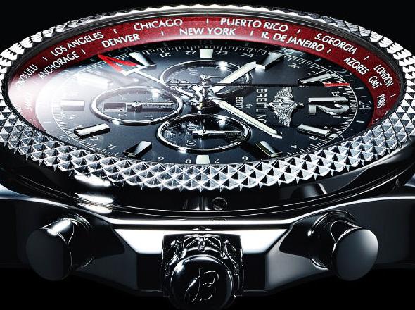 la montre breitling bentley gmt v8 une montre de luxe collector viaprestige lifestyle. Black Bedroom Furniture Sets. Home Design Ideas